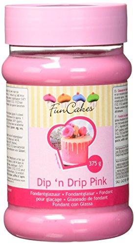 FunCakes Dip'n Drip pink, 375 g