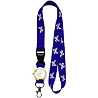 BUTTERFLY Lanyard neck strap with FOB WATCH and metal clip