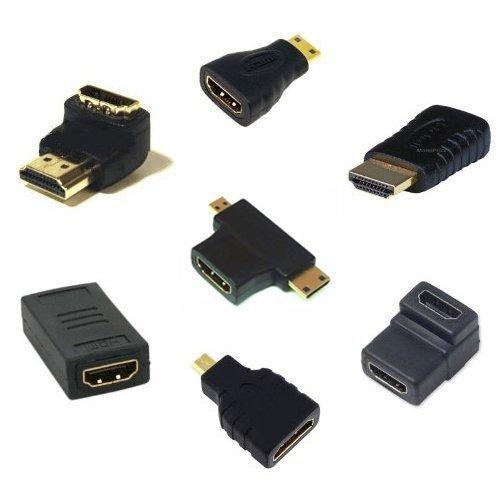 AFUNTA HDMI-Kabel-Adapter-Kit (7 Adapter) Hdmi-kabel Kit