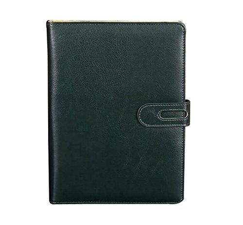 Hardcover 6-Loch-Lose-Blatt-Notebook Benutzerdefinierte Snap Studenten,DarkGreen