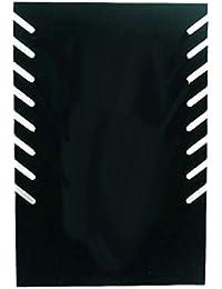 collectsound - Estante de Terciopelo para joyería, para Collares, Pulseras y Collares, Color Negro