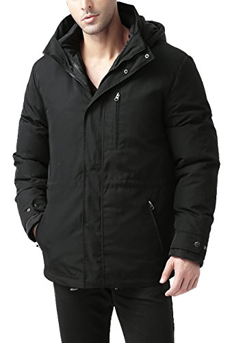 BGSD Men's James 3-In-1 Waterproof Down Parka Coat