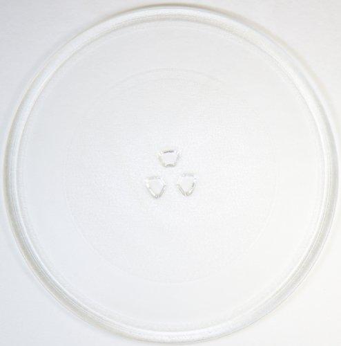 Mikrowellenteller / Drehteller / Glasteller für Mikrowelle # ersetzt AEG Mikrowellenteller # Durchmesser Ø 32 cm / 320 mm # Ersatzteller # Ersatzteil für die Mikrowelle # Ersatz-Drehteller # OHNE Drehring # OHNE Drehkreuz # OHNE Mitnehmer