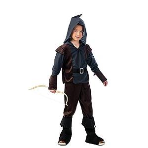 Limit Sport- Archer Arquero Medieval, disfraz infantil, Color monótono, 4 (MI956