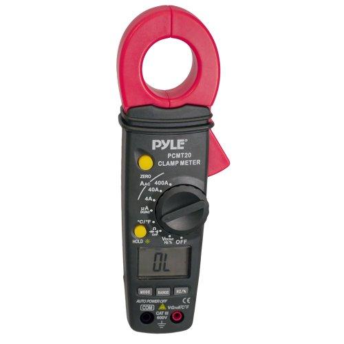 Pyle Digital Auto-Ranging-Zangenmessgerät, Maßnahmen AC / DC Volt und AC Ampere, PCMT20