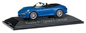 Herpa-Porsche 911Carrera S Cabriolet 991II (Escala H0, 70997