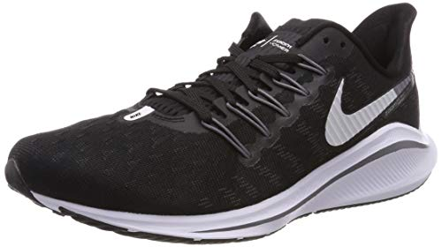 Nike Wmns Air Zoom Vomero 14, Scarpe da Running Donna, Nero (Black/White/Thunder Grey 010), 41 EU