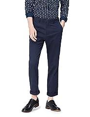 Idea Regalo - find. Pantaloni Classici Regular Fit Uomo, Blu (Navy), W32/L32 (Taglia Produttore: 32)