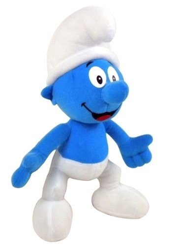 Die Schlümpfe Plüsch Figur 22 cm - Blauer Schlumpf