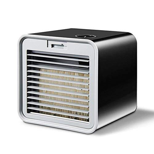 AIRCOOLER USB Kühler 3 in1 Mini Luftkühler Air Cooler Klimagerät Klima tragbar 3 Leistungsstufen Tischventilator