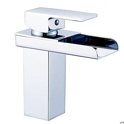 PLYY Centerset Single Handle Ein Loch in Chrom Waschbecken Wasserhahn -