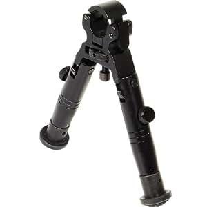 Zeadio® Pince Baril pieds en caoutchouc Bipied pour Sniper Chasse Airsoft Fusil Gun