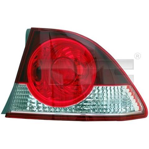 Fanale posteriore sinistro à ¤ usserer NOTEBOOK Honda Civic VIII Fastback (FD, Fa) 09/05–11/08Rà ¼ cklicht Rà ¼ ckleuchte