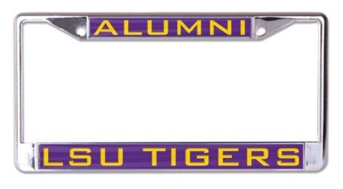 Wincraft Snack-Schale NCAA Louisiana State University LSU Tiger 6x 12Alumni eingelegten Acryl/Metall Nummernschild Rahmen Lsu Louisiana State University