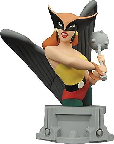DC Comics may162404JLA animierten Serie Hawkgirl Kunstharz Büste (Justice League Animated Series)