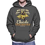 Cloud City 7 Chocobo Taxi Service Final Fantasy VII Men's Hooded Sweatshirt