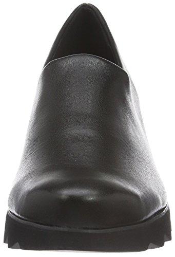 Högl 2- 10 3247, Chaussures à compensée femme Noir - Schwarz (0100)
