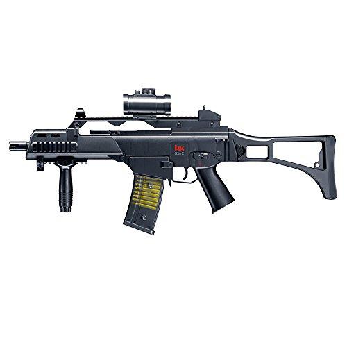 Heckler und Koch Softair Maschinengewehr G36 C Federdruck - von Umarex (Paintball-gewehr 2015)