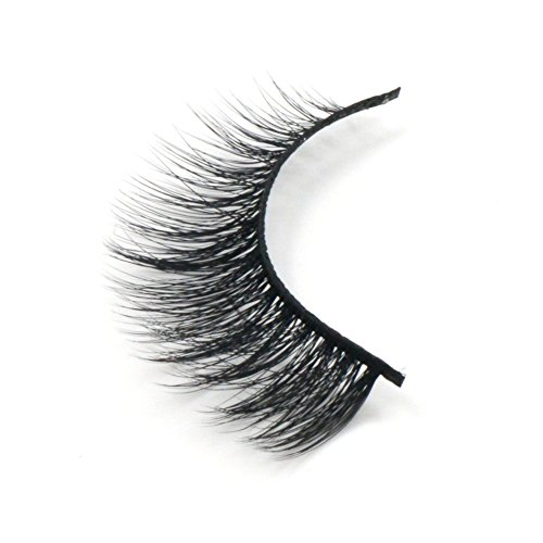 Arison Lashes Fur Fake Eye Lash False Eyelashes 3D fiber Pure Hand-made Natural Look for Makeup (1 Pair)