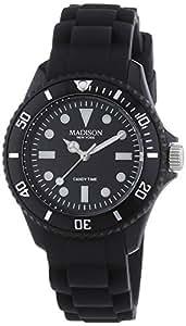 Madison New York Unisex-Armbanduhr Candy Time Mini Analog Silikon L4167A