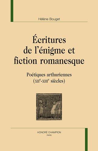 Ecritures de l'énigme et fiction romanesque