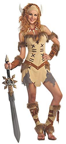 Rubie 's Offizielles Damen Viking Princess Erwachsene Kostüm–Standard