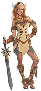 Rubies 880266STD Disfraz Oficial de Princesa vikinga, para Adultos, estándar