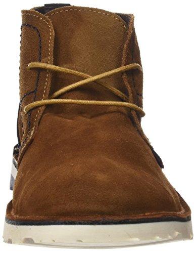 Coronel Tapioca Mens C01-07 Desert Boots Diversi Colori (marino / Tierra)