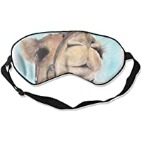 Sleep Eye Mask Cute Camel Lightweight Soft Blindfold Adjustable Head Strap Eyeshade Travel Eyepatch preisvergleich bei billige-tabletten.eu
