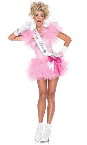 Leg Avenue 85023 - Little Miss Supreme Beauty Kostüm, Größe: M, rosa