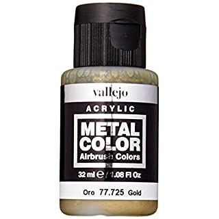 Acrylicos Vallejo 32 ml Metal Color - Gold