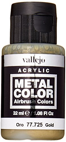 acrylicos Vallejo (32ml Metall Farbe-Gold -