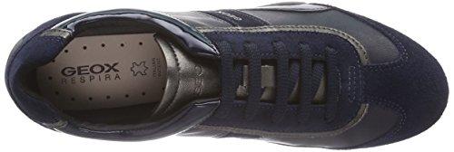 Geox D Snake B, Scarpe da Ginnastica Donna Blu (Navy C4002)