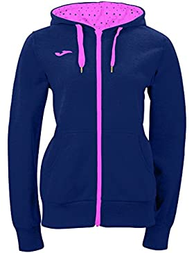 Joma Combi - Sudadera para mujer, color azul marino / rosa, talla L