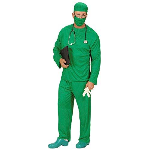 Welcher Kostüm Arzt (Kostüm Chirurg Arzt Mediziner Doktor Kostüme Doktorkostüm Chirurgen Chirurgenkostüm Fasching Karneval Gr XL)
