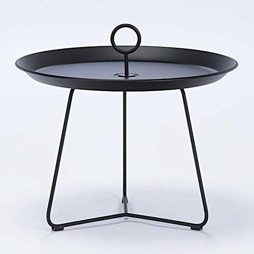 MDS Table d'appoint Eyelet, en Acier laqué epoxy, par HOUE - Eyelet 60 cm, 20 - Noir