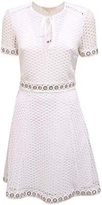 Michael Kors 1420AA Abito Donna White Vestito Dress Woman [0/38]
