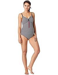 Noppies Swimsuit Yuna 40367–Bañador para mujer, diseño de lunares integrada BH (hasta Cup F)