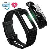 Fitness Tracker Uhr mit Pulsmesser Wasserdicht IP68 Fitness Armband Schrittzähler