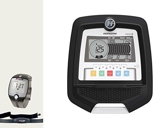 Horizon Fitness Andes 3 Elliptical Ergometer – inkl. FT1 Polar Pulsuhr und Brustgurt - 2