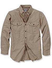 Carhartt S202L/S Fort Solid shirt-Chemise de travail-Chemise de loisirs
