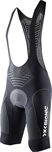 X-Bionic Bike Twyce BIB Tight Short MAN , Farbe:Black-Anthracite;Gršsse:XXL (Bike Active Bib)