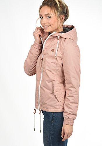 DESIRES Tilda Damen Übergangsjacke Jacke gefüttert mit Kapuze, Größe:XL, Farbe:Mahog. Rose (4203) - 3
