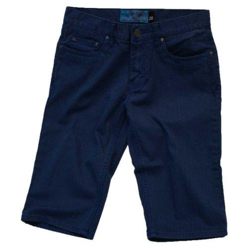 Emerica–Pantaloni corti da uomo HSU Twill Blu - blu
