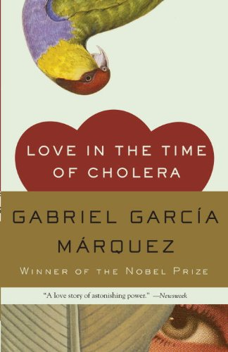 Book cover for Love in the Time of Cholera