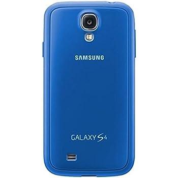 Samsung Original EF-PI950BCEGWW Cover (kompatibel mit Galaxy S4) in capri blau