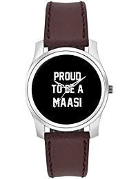 BigOwl Proud To Be A Maasi Best Gift For MAASI Fashion Watches For Girls - Awesome Gift For Daughter/Sister/Wife...