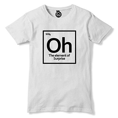 OMG Element Symbol T Shirt Weiß - Weiß