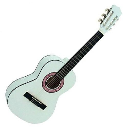 Dimavery 26242051 AC-303 1/2 Klassik Gitarre weiß