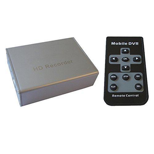 Digital Auto-kamera-dvr (H02 HD DVR Mini DIGITAL Video Recorder Überwachung für zu Hause und Auto, Geeignet für CCD oder CMOS Kamera)